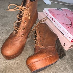 70's Style Booties
